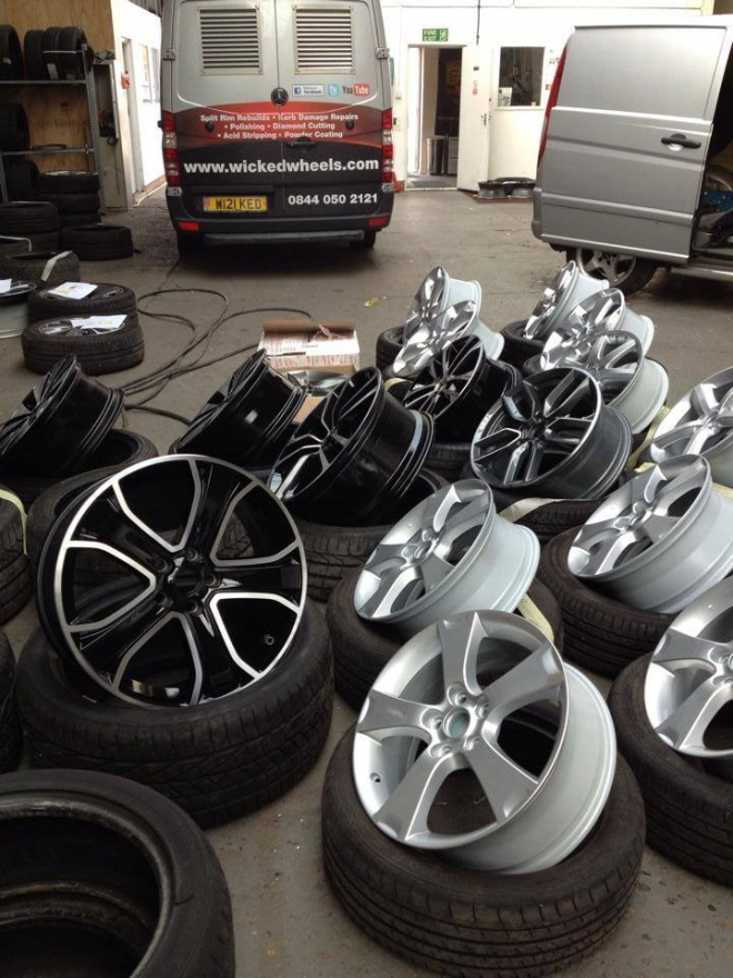 Wicked Wheels - Mobile Alloy Wheel Refurbishment
