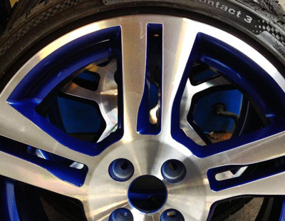 Colour Coding Alloy Refurbishment, Wicked Wheels