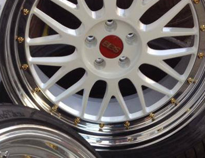 Painted Alloy Wheel Services