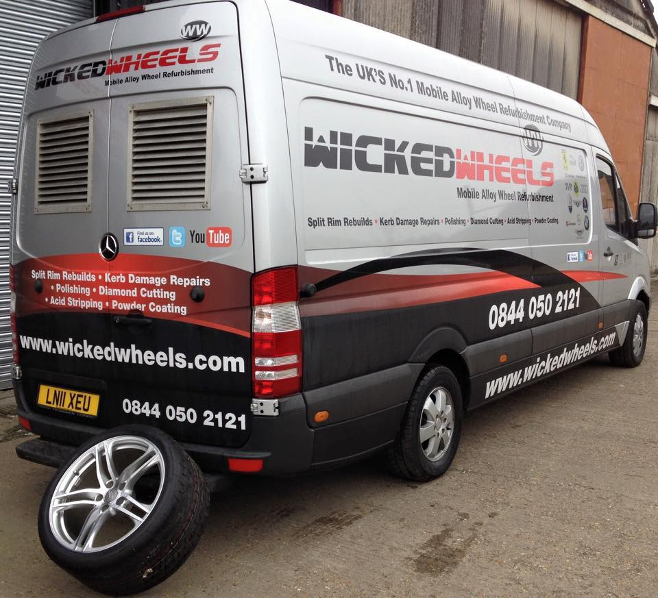 Wicked Wheels, Mobile Alloy Wheel Refurbishment