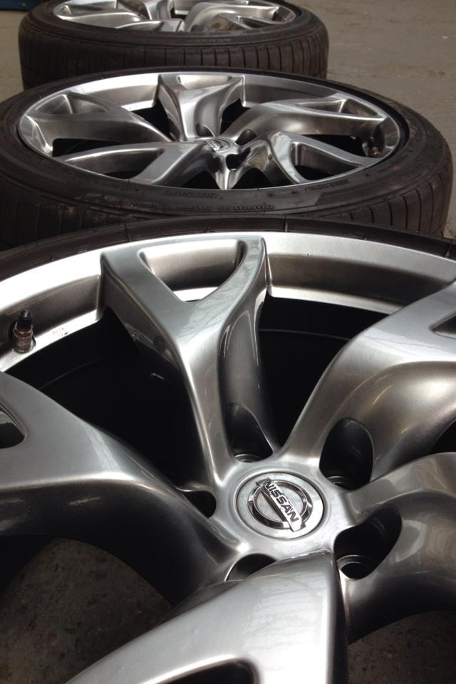 Process of Alloy Wheel Refurbishment