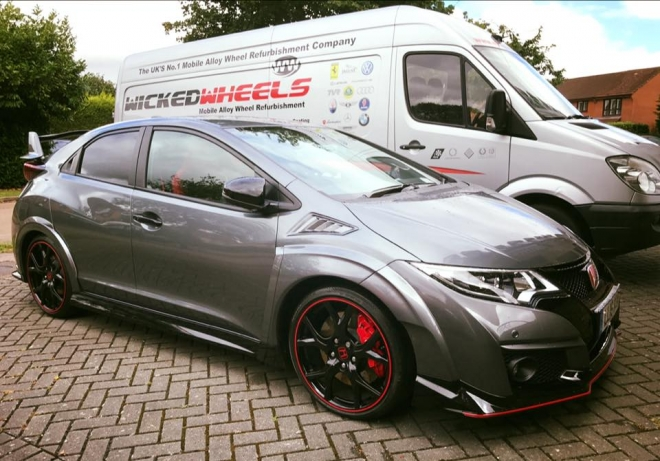 Alloy Wheel Repair Honda Civic
